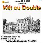Théâtre : Kilt ou Double
