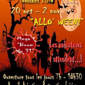 Le Centre de Loisirs vous accueille pendant les vacances de Toussaint !