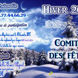 Comité des Fêtes : programme de fin d'année