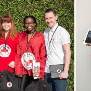 Campagne de sensibilisation de la Croix-Rouge