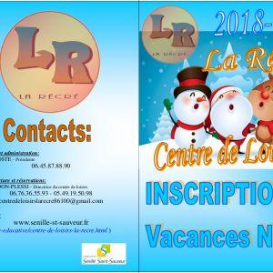 Vacances de Noël au Centre de Loisirs : les inscriptions sont ouvertes !