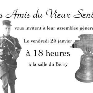Assemblée Générale des Amis du Vieux Senillé