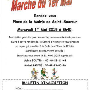 Marche du 1er mai du Comité d'Animation