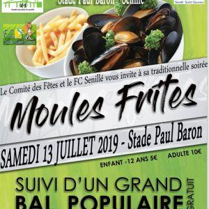 Moules-Frites du 13 juillet 2019