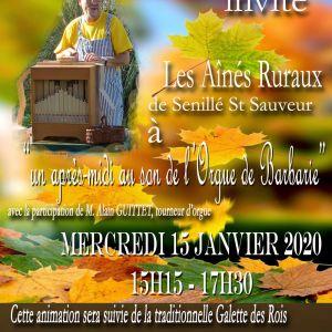 La bibliothèque de St-Sauveur invite les Ainés Ruraux et les jeunes du Centre de Loisirs...