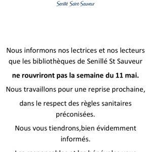Bibliothèques de St-Sauveur et de Senillé
