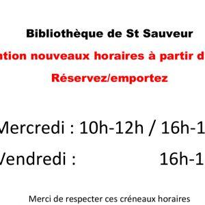 Réorganisation des bibliothèques de Senillé St-Sauveur