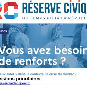Réserve Civique : du temps pour la République