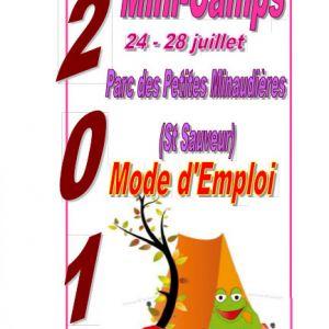 Centre de Loisirs : Mini-Camps 2017 !