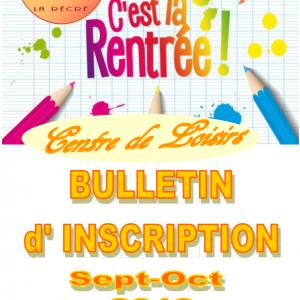 """Le Centre de Loisirs """"La Récré"""" accueille vos enfants le mercredi !"""