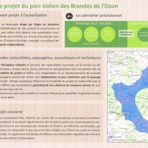 Projet éolien des Brandes de l'Ozon