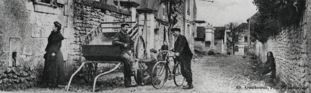 Rue du Berry vers 1910 - ©