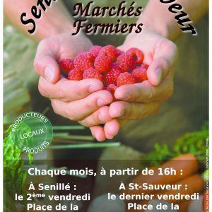 Marché fermier de St-Sauveur La Foucaudière